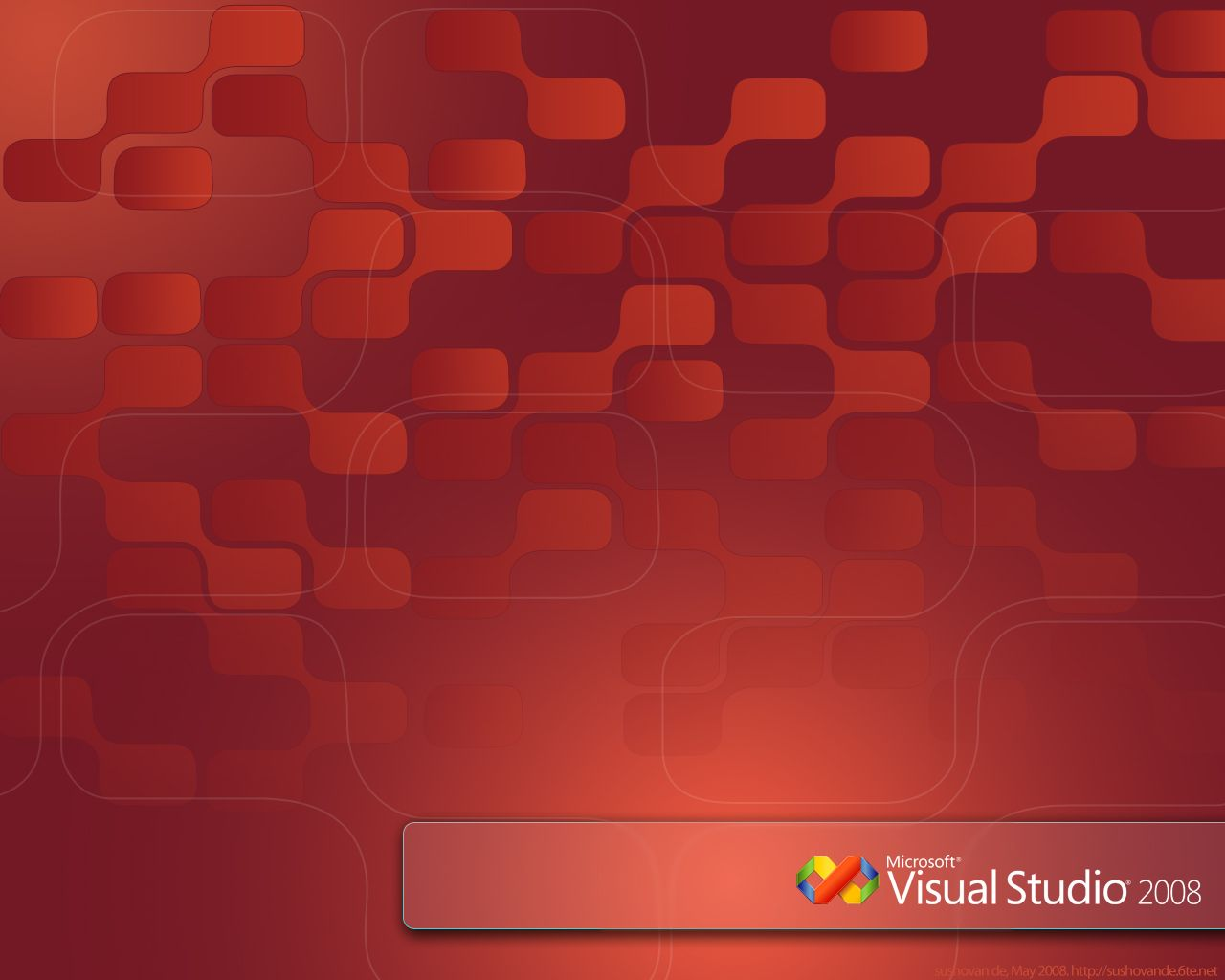 Visual Studio 2008 Wallpaper
